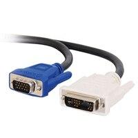 C2G - Cable VGA - DVI-A (M) - HD-15 (M) - 5 m (16.40 ft)