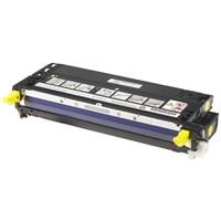 Tóner amarillo de alto rendimiento de 8000 páginas para la impresora láser color Dell 3110cn/ 3115cn