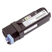 Cartucho de tóner negro de capacidad estándar de 1000páginas para la impresora láser color Dell2135cn