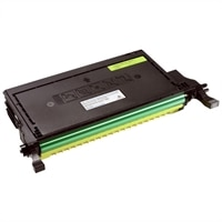 Dell 2145cn 2000 Page Yellow  Toner Cartridge