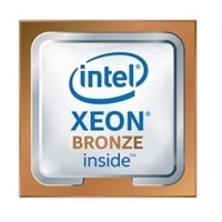 Intel Xeon Bronze 3204 1.9GHz, 6C/6T, 9.6GT/s, 8.25MB caché, No Turbo, No HT, (85W) DDR4-2133 CK