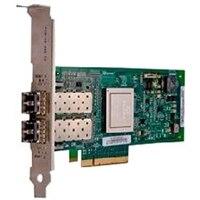 Dell Qlogic 2562, Dual puertos 8Gb adaptador de bus de host de canal de fibra, Bajo Perfil
