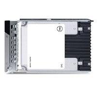 """Dell 1.92TB SSD SAS Lectura Intensiva 12Gbps 512e 2.5"""" con 3.5"""" Portadora Híbrida Interno Bay, PM5-R"""