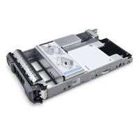 """Dell 3.84TB SSD SAS Lectura Intensiva 12Gbps 512e 2.5"""" Unidad 3.5"""" Portadora Híbrida ,PM5-R"""