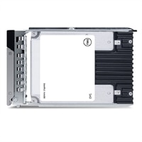 "Dell 3.84TB SSD SAS Lectura Intensiva 12Gbps 512e 2.5"" Unidad en 3.5"" Portadora Híbrida FIPS140 ,PM5-R"