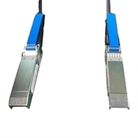 Cable de cobre de direct attach pasivo de red Fabric de omnitrayecto Dell SFP+ - SFP+ 10GbE , 7 M