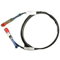 Dell Networking, cable, SFP+ a SFP+, 10GbE, cobre Biaxial Cable de conexión directa, 3 m, CusKit