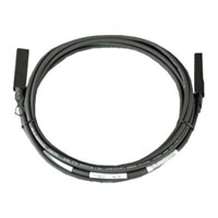 Dell Networking Cable SFP+ to SFP+ 10GbE Cable de cobre de direct attach Twinax 5 meter