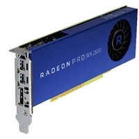 Radeon Pro WX 2100 2GB 1 DP 2 mDP (Precision)