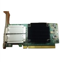 Mellanox ConnectX-4 Dual puertos 40/100GbE, PCIe adaptador, QSFP28, altura completa, Customer Install