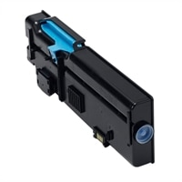 Dell 1,200-Page Cyan Toner Cartridge for Dell C2660dn/C2665dnf Color Printers, Customer Install