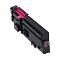 Dell 1,200-Page Magenta Toner Cartridge for Dell C2660dn/C2665dnf Color Printers, Customer Install