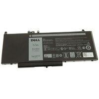 Batería Principal de iones de litio de 62 W/h de 4 celdas Dell