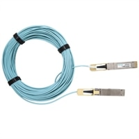 200GbE QSFP28-DD cable óptico activo de (hasta 20 m) de Dell Networking, No FEC