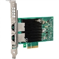 Dell Dual puertos Intel X550, 10G Base-T Adaptador de altura completa