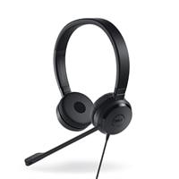 Casque d'écoute stéréo DellProUC350 certifié pour Skype Entreprise