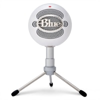 Blue Snowball iCE USB Microphone - Blanc