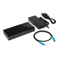 Kensington SD4800P USB-C Triple Video Dock - Station d'accueil - USB-C 3.1 - HDMI, 2 x DP - GigE