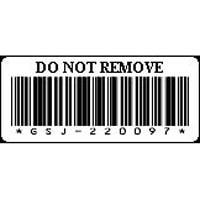 Étiquettes du support de bandes LTO-5 Dell - Numéros d'étiquettes 1 à 200