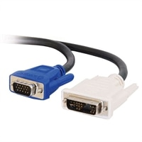 C2G - Câble VGA (Mâle) vers DVI-A (Mâle) - Noir - 5m