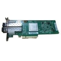 Dell Qlogic 2562 Dual Channel 8Gb ottica Fibre Channel Scheda HBA PCIe basso profilo