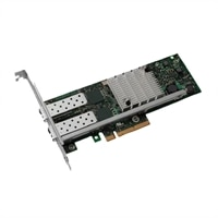 Dell Controller IO 10GB iSCSI Dual Port PCI-E Copper da carta - pieno altezza