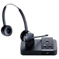 Jabra PRO 9450 Duo - Auricolare con microfono - convertibile - DECT - wireless