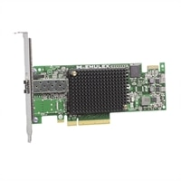 Dell Emulex LPE-16000, 1 porters 16GB Fibre Channel-HBA Host Bus Adapter, lav profil - Sett