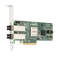 Dell Emulex LPE 12002 dualporters 8Gb Fibre Channel-HBA Host Bus Adapter - full høyde