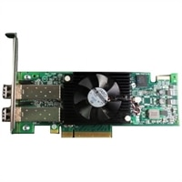 Dell Emulex LPe16002B, dualporters 16GB Fibre Channel-HBA Host Bus Adapter, full høyde, Kundesett