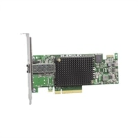 Dell Emulex LPe16000B, 1 porters 16GB Fibre Channel-HBA Host Bus Adapter, lav profil