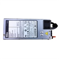 Dell Single, Hot-Plug Strømforsyning (1+0), 1100 W