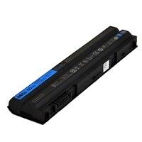 Batteri: 6-cellers primærbatteri på 60 Wh ExpressCharge-kompatibelt, gjelder enkelte bærbare PC-er av typen Dell Latitude