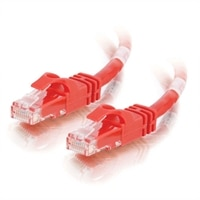 C2G Cat6 550MHz Snagless Patch Cable - koblingskabel - 1.5 m - rød