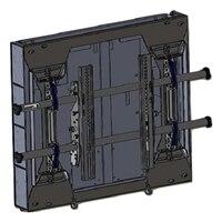 Chief Large FUSION LSD1U - Veggmontering for LCD/plasma-panel - svart