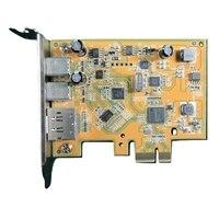 USB 3.1 Type-C PCIe placa (Meia altura)