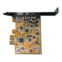 USB 3.1 Type-C PCIe placa Meia altura/Altura integral para MT/SFF