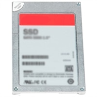 Dell 400 GB Unidade de disco rígido de estado sólido SAS Escrita intensiva 12Gbps 2.5in Fina em 3.5in Transportador Híbrido - PX04SH