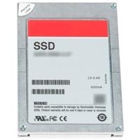 Dell 1.92 TB Unidade de disco rígido de estado sólido Serial Attached SCSI (SAS) Utilização Combinada MLC 12Gbps 2.5 pol. Unidade De Troca Dinâmica em 3.5 pol. Transportador Híbrido PX05SV, kit de cliente