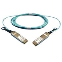 Dell de rede Omni-Path, LP Active Cabo ótico QSFP28 - QSFP28 (sistema ótico incluído) - 5 Metros