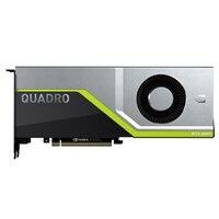 NVIDIA Quadro RTX 6000 24 GB, 260W, Dual Slot, PCIe x16 Passiva Cooled, altura integral GPU, instalação do cliente
