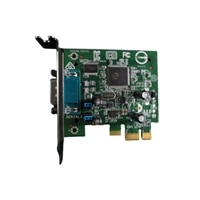 Dell serial porta PCIe placa (perfil baixo)
