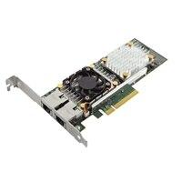 Dell Broadcom 57810 Dual Port 10 Gb Base-T  Adaptador de rede Convergida  , de Baixo Perfil