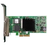 placa de interface de rede Intel Ethernet I350 PCIe de quatro portas 1 Gigabit para placa de rede de servidor altura integral