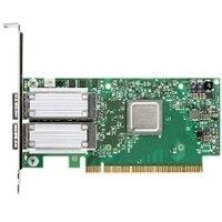 Dell Mellanox ConnectX-4 Dual portas,as 100 Gbe QSFP28 perfil baixo adaptador de rede