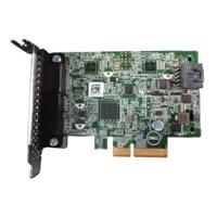 Dell Thunderbolt 3 PCIe placa - 2 Type C portas, 1 DP em