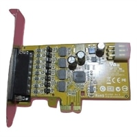 Dell 4-portas Powered Serial PCIe placa (Altura integral)