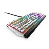 Teclado de Gaming Mecânico RGB de Baixo Perfil da Alienware : AW510K (Lunar Light) - US International (QWERTY)