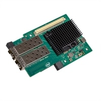 Dell de Dual portas Intel X710, 10Gb, SFP+ Mezzanine adaptador