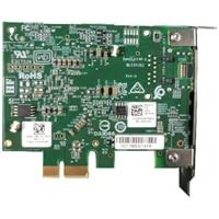Dell placa de interface de rede Ethernet PCIe de 1 portas 5G/2.5GBase-T para placa de rede de servidor (Meia altura)